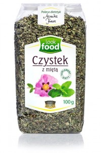 Look Food Czystek z miętą 100 g