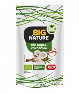 Big Nature Mąka kokosowa eko 550 g