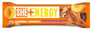Eurohansa She + Energy Baton Fruit & Nut almond, apricot 30 g