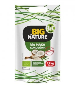 Big Nature Mąka kokosowa eko 1,1 kg