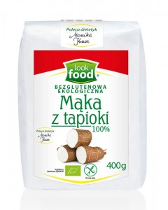 Look Food Mąka z tapioki eko 400 g