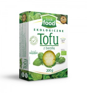 Look Food Tofu z bazylią eko 200 g