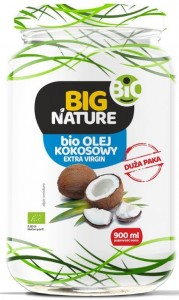 Big Nature Olej kokosowy extra virgin eko 900 ml