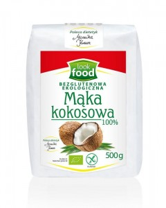 Look Food Mąka kokosowa eko 500 g