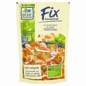 Blue Dragon Fix koncentrat Kurczak w sosie teriyaki 150 g