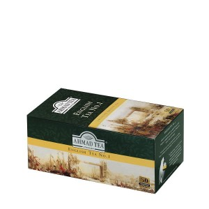 Ahmad Tea Herbata English Tea No.1 50 x 2 g