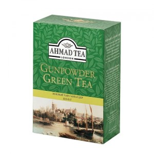 Ahmad Tea Herbata zielona Green Gunpowder Tea 100 g