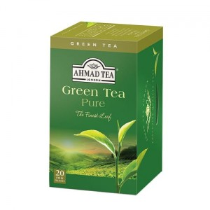 Ahmad Tea Herbata zielona Green Tea Pure 20 x 2 g