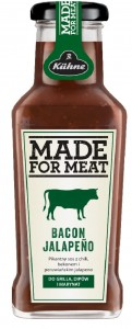 Kuhne Sos Made For Meat Bacon Jalapeno pikantny 235 ml