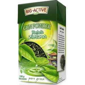 Big-Active Gun Powder Herbata zielona 100 g