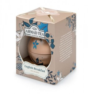 Ahmad Tea Herbata czarna Twilight Baubles English Breakfast bombka 30 g
