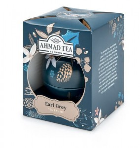 Ahmad Tea Herbata czarna Twilight Baubles Earl Grey bombka 30 g