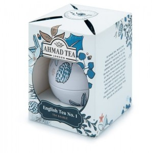 Ahmad Tea Herbata czarna Twilight Baubles English No.1 bombka 30 g