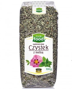 Look Food Czystek z melisą 100 g