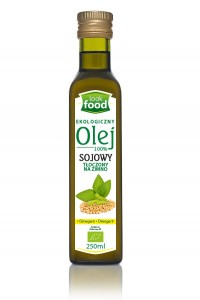 Look Food Olej sojowy 100% eko 250 ml
