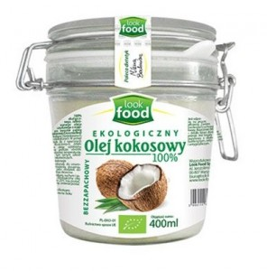 Look Food Olej kokosowy eko 400 ml