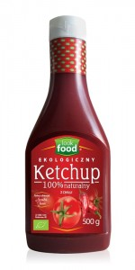 Look Food Ketchup z chilli eko 500 g