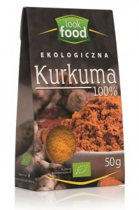 Look Food Kurkuma eko 50 g