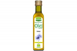 Look Food Olej 100% lniany eko 250 ml