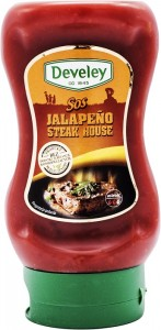 Develey Jalapeno Steak House sos bezglutenowy 265 g