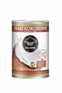 Mr. Ming Białe kokosowe Coconut milk 5-7% 400 ml