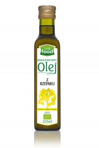 Look Food Olej 100% z rzepaku eko 250 ml