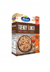 Melvit Premium Trendy Lunch orkisz vermicelli pomidory 4 x 100 g