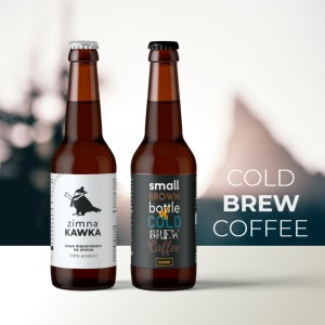 Zimna Kawka Cold Brew Coffee kawa bez parzenia 330 ml