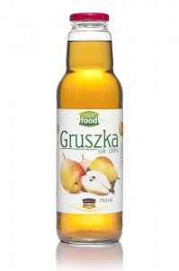 Look Food Gruszka sok 100% 750 ml