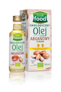 Look Food Olej 100% arganowy Virgin eko 100 ml