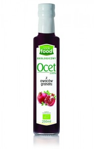 Look Food Ocet 100% z granatu eko 250 ml