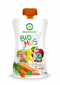 Bio-Food Bio Mus Jabłko + Marchew eko 90 g