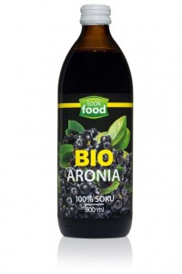 Look Food Bio Aronia 100% soku eko 500 ml