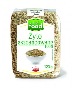 Look Food Żyto ekspandowane 120 g