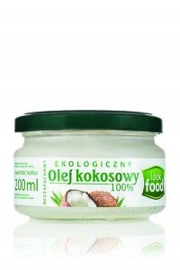 Look Food Olej kokosowy 100% eko 200 ml