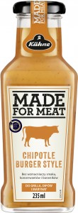 Kuhne Sos Made For Meat Chipotle Burger 235 ml
