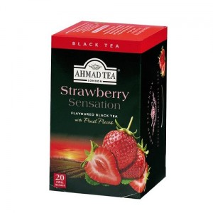 Ahmad Tea Herbata Strawberry Sensation 20 x 2 g