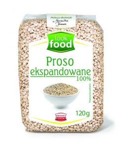 Look Food Proso ekspandowane 120 g