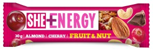 Eurohansa She + Energy Baton Fruit & Nut almond, cherry 30 g