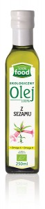 Look Food Olej 100% z sezamu eko 250 ml