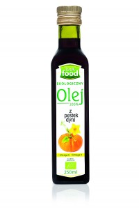 Look Food Olej 100% z pestek dyni eko 250 ml