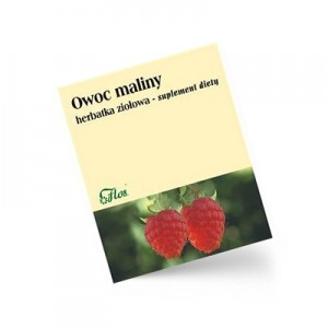 FLOS Malina owoc suplement diety 50 g