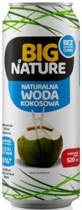 Big Nature Woda kokosowa 520 ml