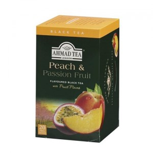 Ahmad Tea Herbata Peach and Passion Fruits Brzoskwinia i marakuja 20 x 2 g