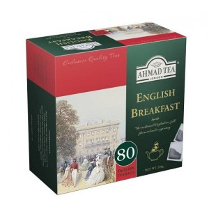 Ahmad Tea Herbata English Breakfast 80 x 2 g