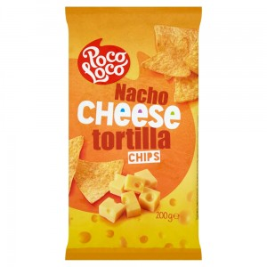 Poco Loco Tortilla chipsy cheese 200 g