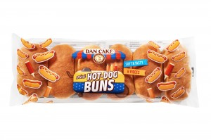 Dan Cake Mini Hot Dogs (6x40g) 240 g