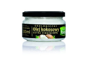 Look Food Olej z kokosa extra virgin eko 200 ml