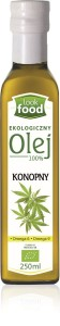 Look Food Olej 100% konopny eko 250 ml