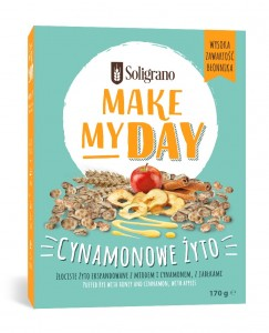 Soligrano Make My Day Cynamonowe Żyto 170 g